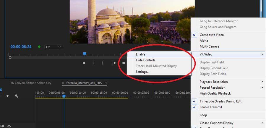 اموزش میکس و تدوین ویدیوی سه بعدی در پریمیرپرو