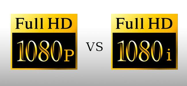 تفاوت سیستم های تصویری HD 1080 i , HD 1080 p در چیست ؟
