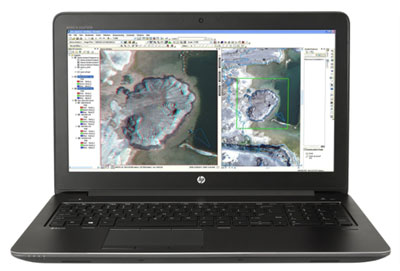 لپ تاپ اچ پی زد استودیو جی3 HP zBook studio g3 برای افترافکت و تدوین فیلم