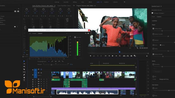 رفع مشکلات صدا در پریمیرپرو سی سی 2019 با آپدیت جدید