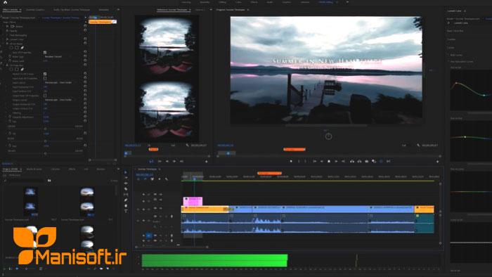 بهینه سازی بخش ویدیوهای 260 درجه در پریمیرپرو سی سی 2019