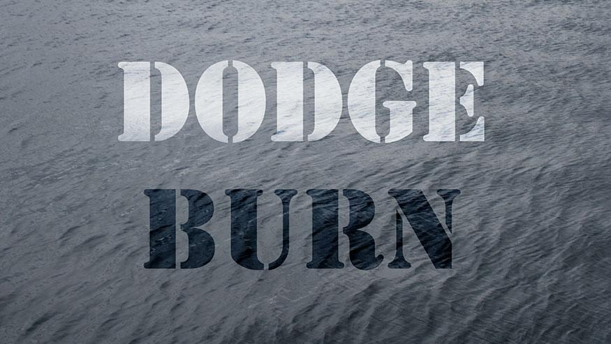 تاثیر داج و برن Dodge and Burn در پرینت یا چاپ با HDR